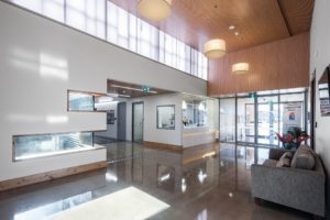 ovedale Community Hub - Internal foyer