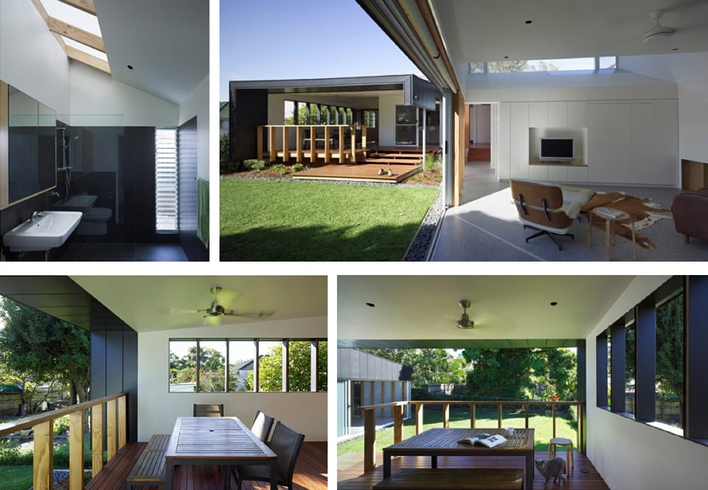 Grange Residence Interior custom Skylights by Architect Kieran Gait