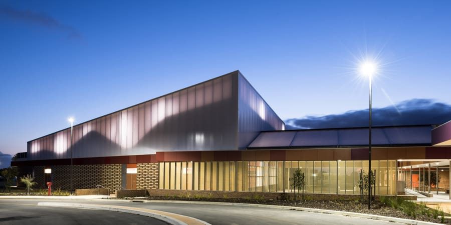 Danpal and Everbright Polycarbonate Glazing Lights up Byford Secondary College
