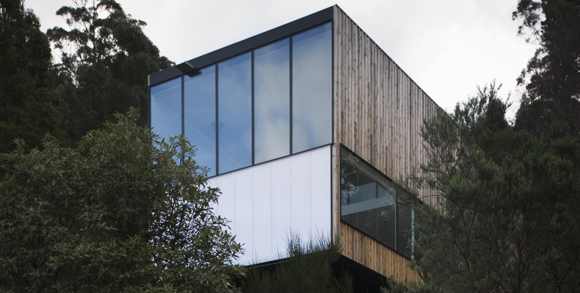Danpatherm Façade exterior wall cladding panels, bring light and warmth to 'Little Big House'
