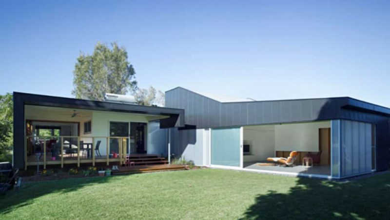 Danpalon Custom Skylights Gate Pays Architects chose Danpalon translucent system for walls and custom skylights