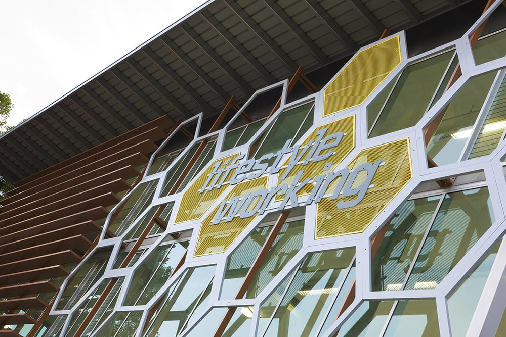 Translucent Polycarbonate Canopy Roofing, Controlite - Lifestyle Working Brookvale Sydney