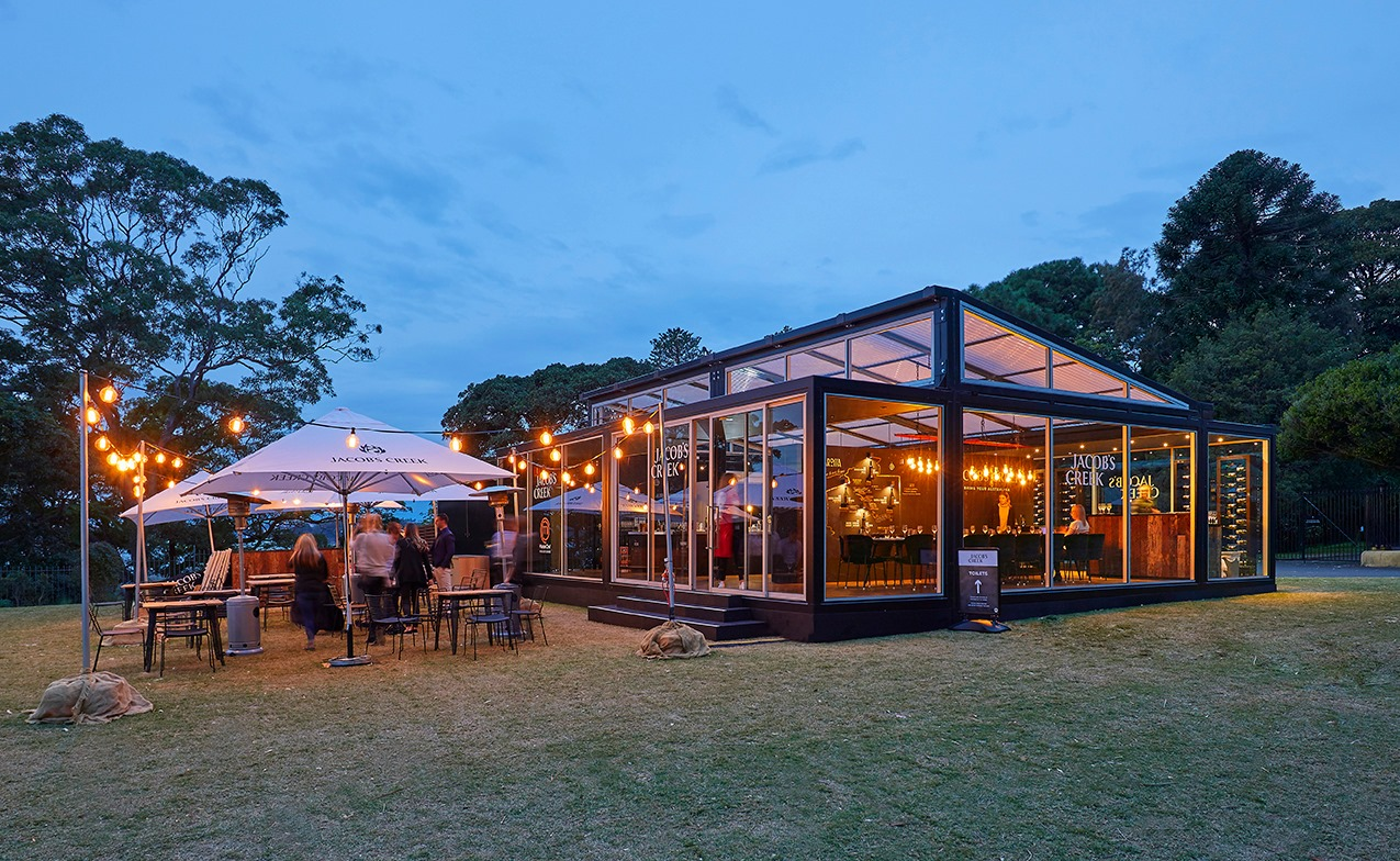 Jacob's Creek is 'Everbright' in Bennelong - Modular System Architecture