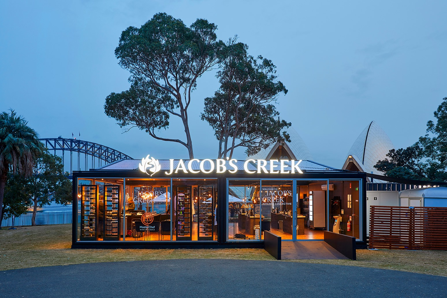 Jacob's Creek is 'Everbright' in Bennelong - Modular System Architecture by SpaceCube