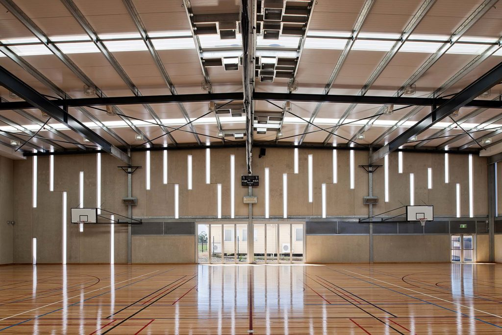 Kinetic Contemporary Building Polycarbonate Facades Panels - St Columba College Gymnasium, South Australia