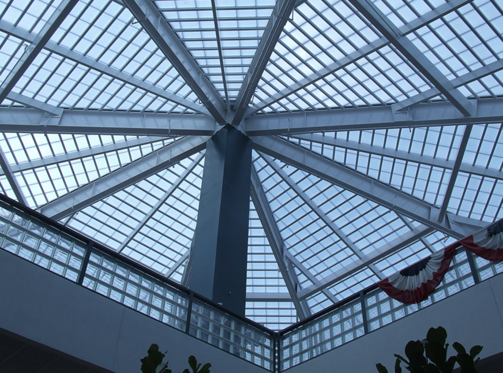 Hexagon polycarbonate roofing, natural daylighting systems