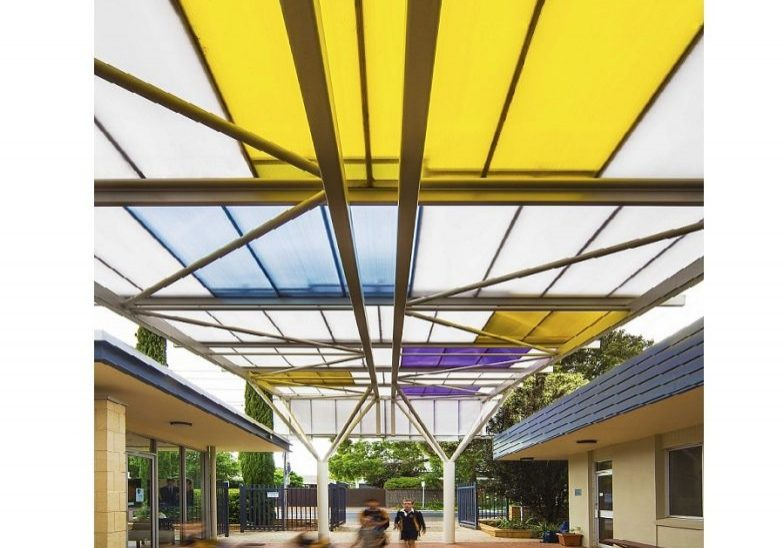 Health benefits of natural light and colour. Sunshine equates to improved performance. St Johns College