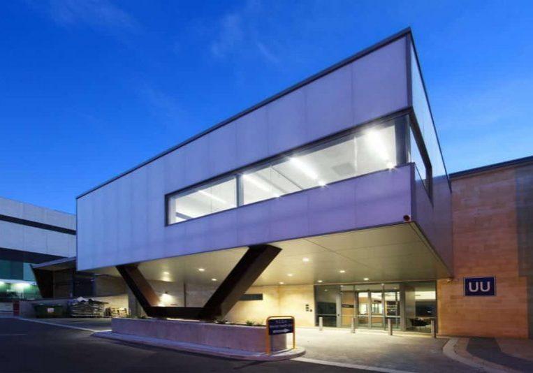 External Façade and Exterior Wall Facades by Danpatherm. Danpalon Façade Meets Criteria for Sir Charles Gairdner Hospital  WA